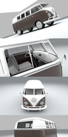 VW Combi Split WIP 2 by pierre-allard