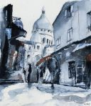 (SOLD) original - Montmartre in the snow - Paris by nicolasjolly