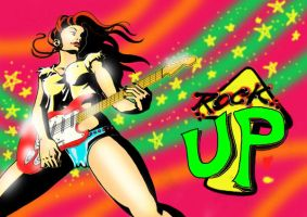 rock up by EUDETENIS