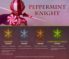 Winter Contest 2016: The Peppermint Knight - OVER by CGCookie