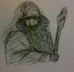 Gandalf by Petit-Hibou