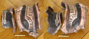 assembly: war from darksiders's left pauldron by minidelirium