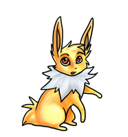 Jolteon Doodle by Aluri
