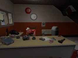 Engie's Office by Fatgirlzarebest