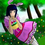 Hinata Easter Bunny by Jediahndii