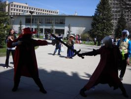 Alucard vs Dante Cosplay 1 by AngelKiller666