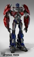 TF Optimus Prime design v2 by AugustoBarranco