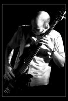 Bassist in Black by gdpgigs