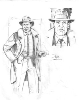 Detective Story Concept Art by PauulP