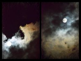 the moon...the clouds...the sky foam by jolline