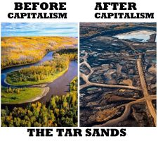 The Tar Sands by Valendale