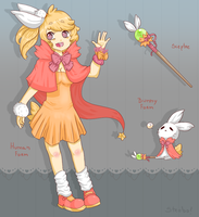 Magical Bunny Girl {CLOSED} by Strobotic