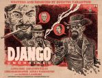 Django Unchained Poster by RADMANRB