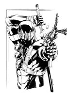 SnakeEyes Head and Torso sketch by RobertAtkins