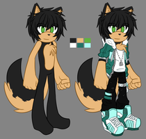 Liam the Wolf | Ref 04 - 07 - 15 | by moriomii