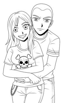 Hubby and I by ZombieGirl01