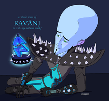 Ravanj -- A New Fragrance by Megamind by ScowlofJustice