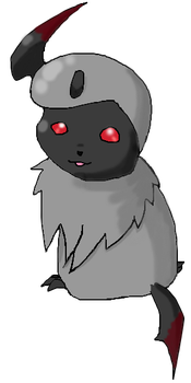 Chibi Absol OC by angeletic