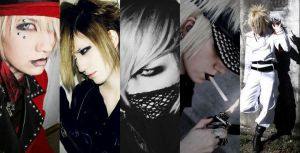 Ruki cosplay collage by oishii-tomato