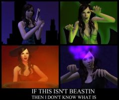 Beastin Sims 2 by WhiteButterflyFilms