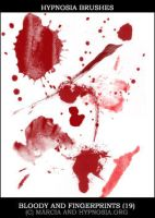 Bloody and fingerprints by screenvision