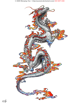 Nice Dragon Tattoo Designs 2
