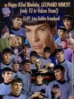 Happy 82nd Birthday, Leonard Nimoy! by Therese-B