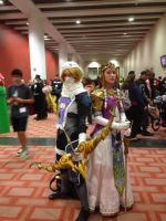 Princess Zelda and Sheik by WhiteMageRinny