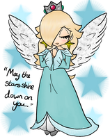 Rosalina Angel - Coloured by Peach-X-Yoshi