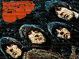 Rubber Soul Mosaic by GmannyTheAnimator
