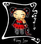 Gothic Pucca. Funny love. by WTE