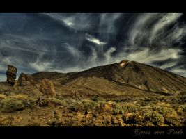 Cirrus over Tiede by furryfoto-fotography