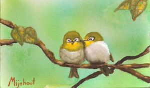 I love you too - little wrens by G-SJ