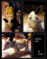 Frankenweenie: Sparky doll by LeenaKill