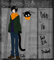 Blair-Hills High App: Cole by Zanyzarah