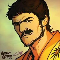 Oberyn Martell: The Red Viper by grantgoboom