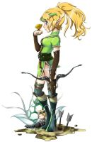 Dragon Nest - Triana by howeirong