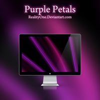 Purple Petals by RealityOne