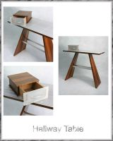 Hallway Table by Dyer-Consequences