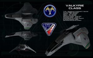 Valkyrie Aerospace superiority fighter ortho by unusualsuspex