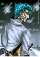 grimmjow jeagerjaques by noodlemie