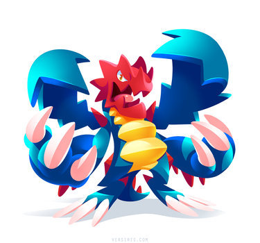 PKMN - Druddigon by Versiris