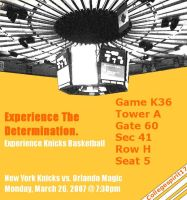 Knicks Basketball Experience by CollegeSpirit17