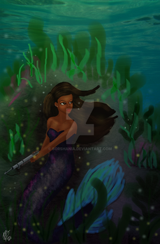 The Mermaid Warrior - a Sleepy Hollow AU by Sorshania