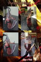 Pyramid Head Plastilina by yuisama