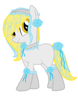 epiclyawesomeprussias maid pony ^^ by JewelThePonyLover12