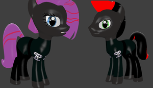 [Old model] Equestria G-Police (WIP) by Commodor-Richter
