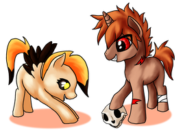 Request: Boney and Pumpkin Jack by SouloftheSky