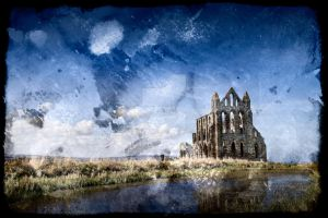 Whitby Grunge Abbey - Exclusive Premade Stock by somadjinn