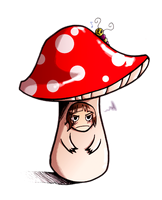 Merlin is a mushroom by Mistexpi